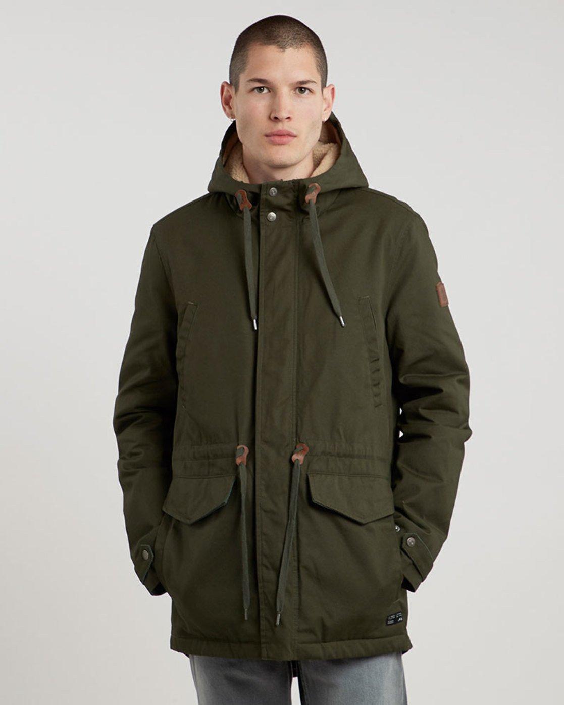 0 Roghan - Jacket for Men Green L1JKC8ELF8 Element