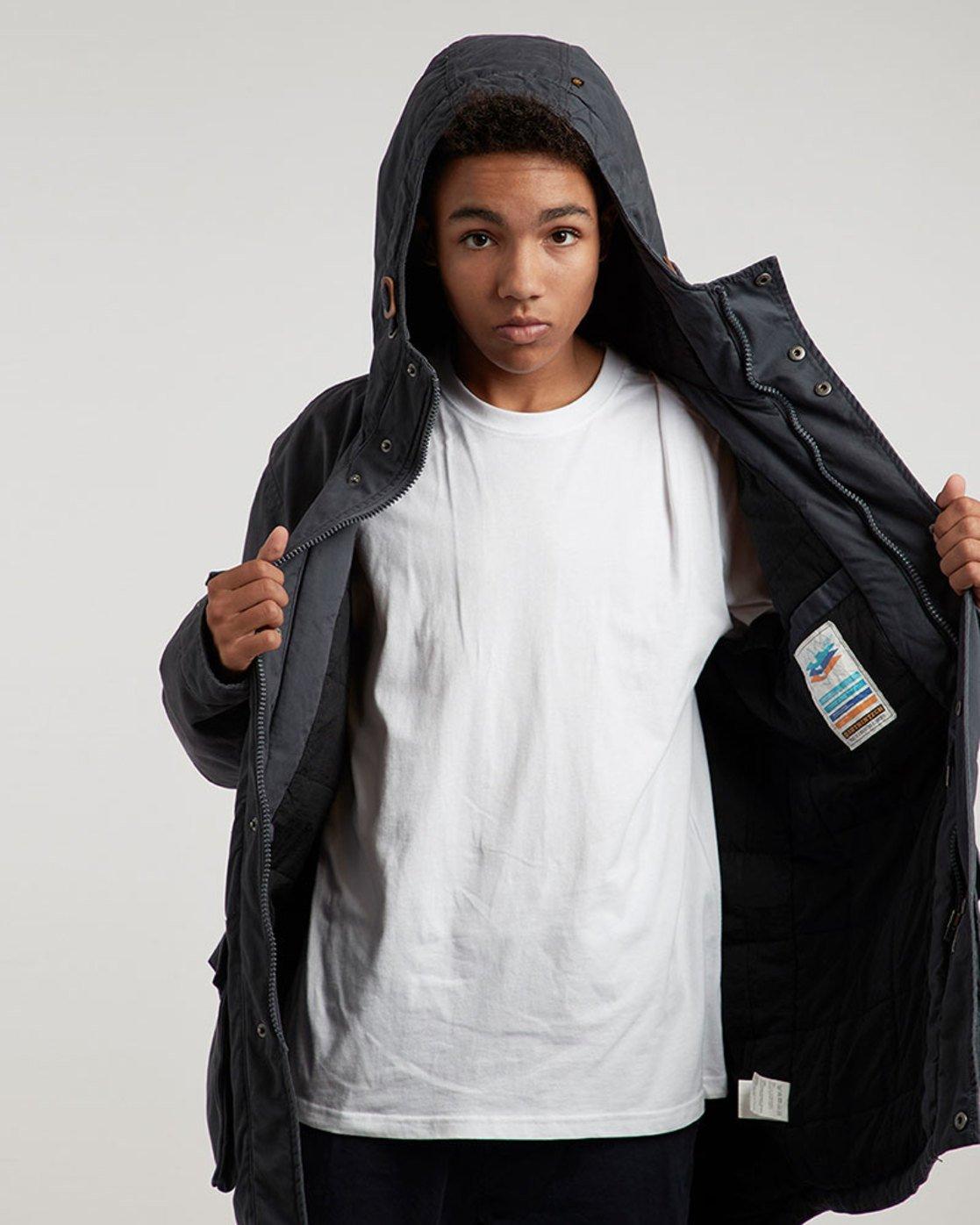 1 Roghan Plus - Jacket for Men Blue L1JKC9ELF8 Element