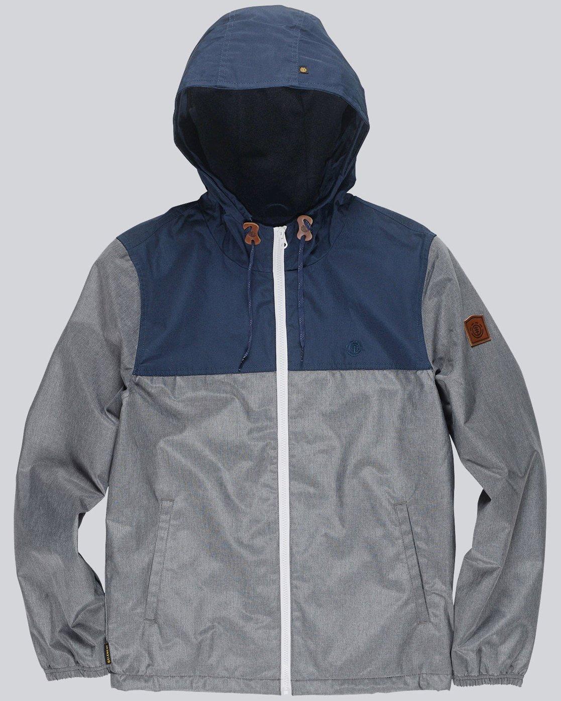 4 Alder 2 Tones - Jacket for Men Gray L1JKE2ELF8 Element