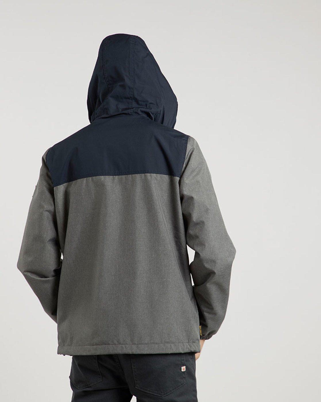 3 Alder 2 Tones - Jacket for Men Gray L1JKE2ELF8 Element