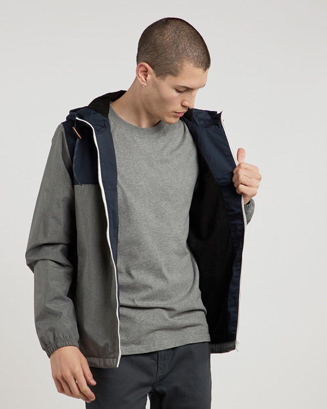 1 Alder 2 Tones - Jacket for Men Gray L1JKE2ELF8 Element