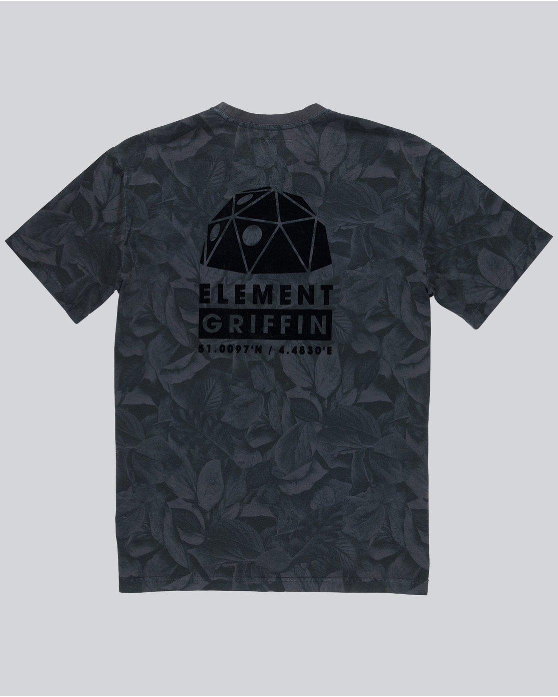 3 Griffin Leaf Camo Ss - Knit for Men  L1KTE7ELF8 Element