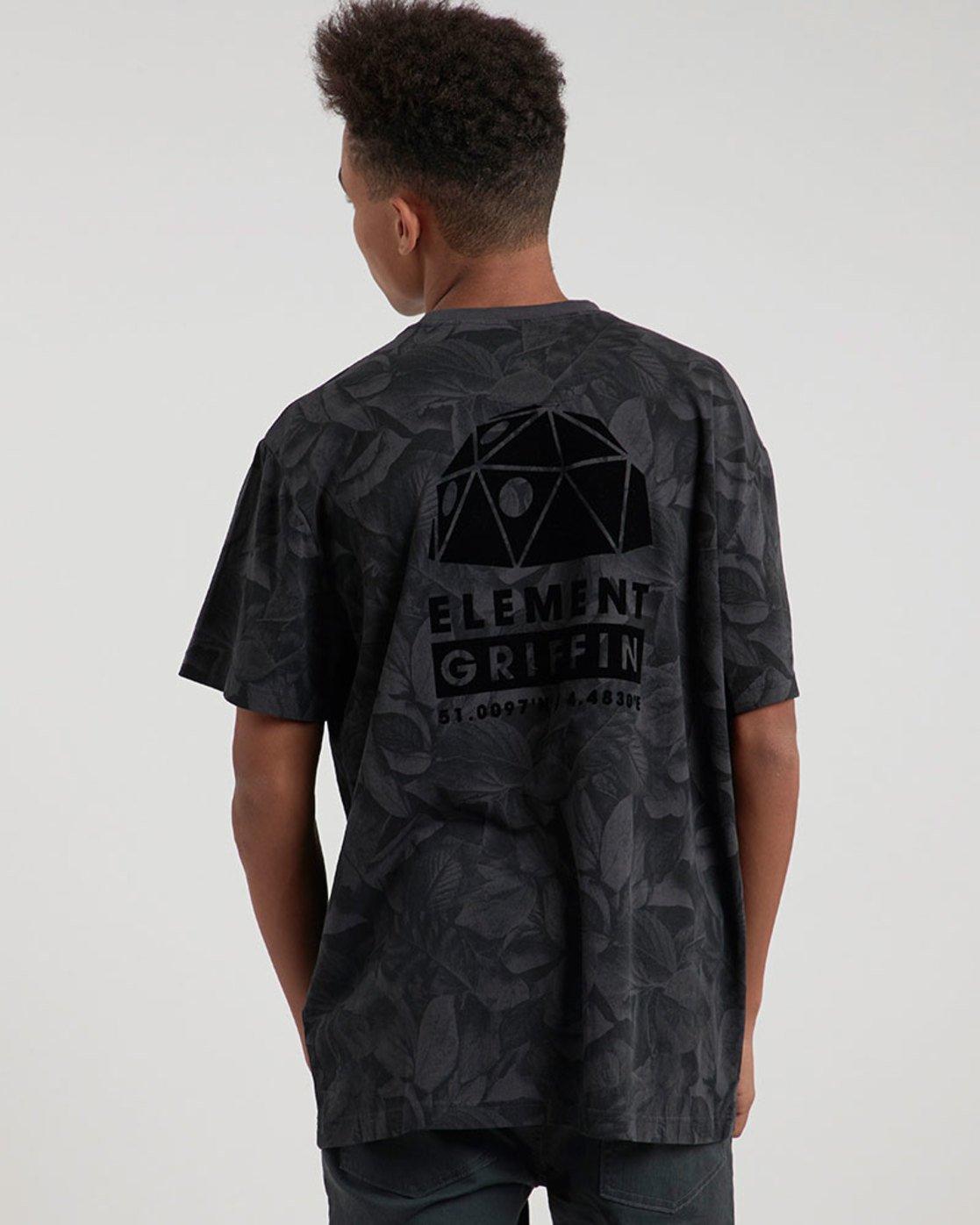 1 Griffin Leaf Camo Ss - Knit for Men  L1KTE7ELF8 Element