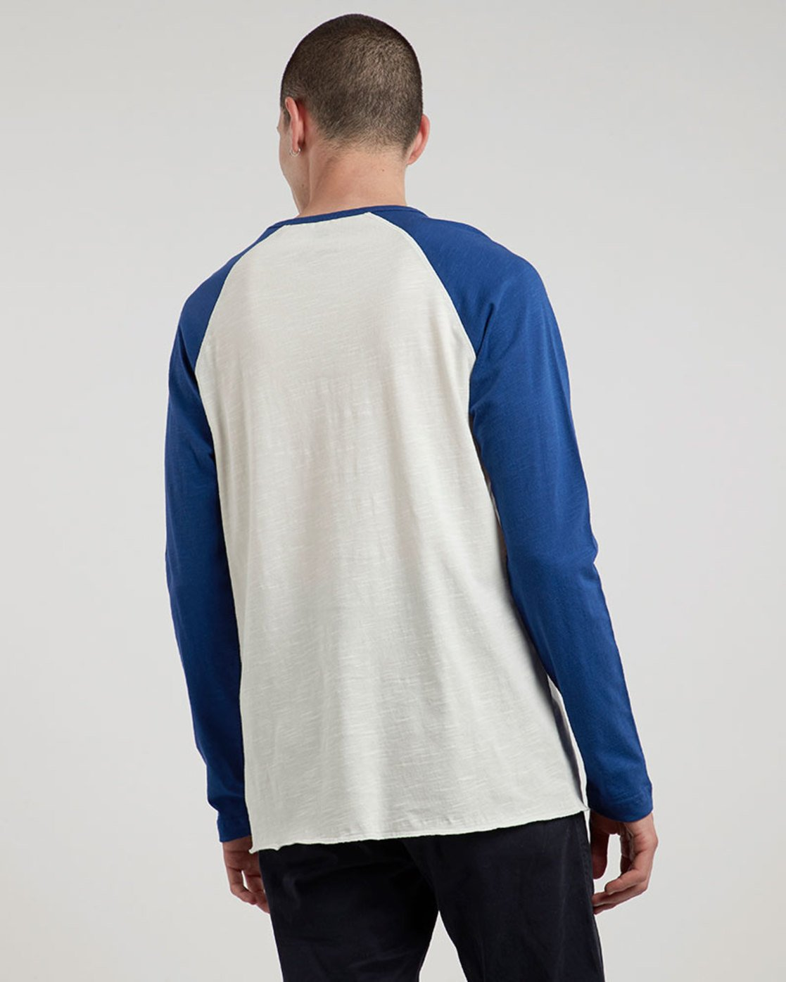 1 Blunt - Long Sleeve T-Shirt for Men White L1LSA8ELF8 Element