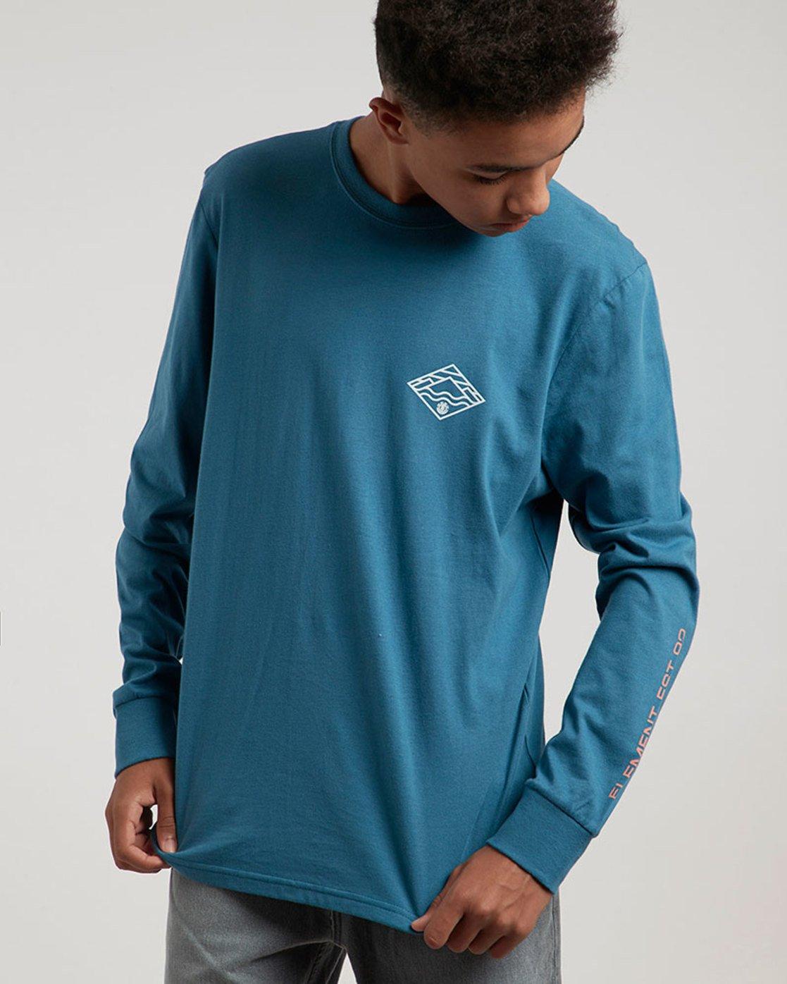 0 Layer Ls - Tee Shirt for Men  L1LSB8ELF8 Element