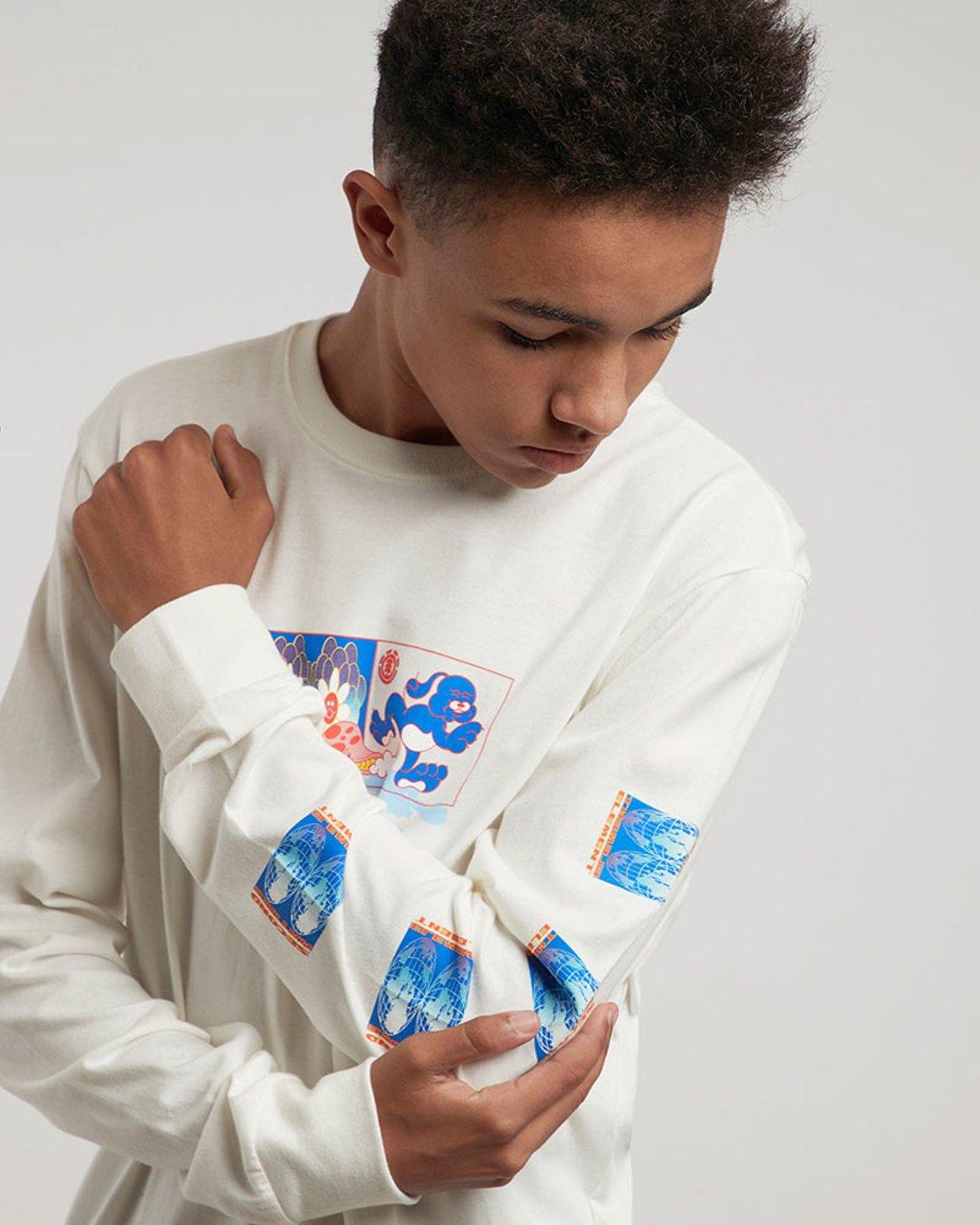 1 Mushroom Ls - Tee Shirt for Men  L1LSC8ELF8 Element
