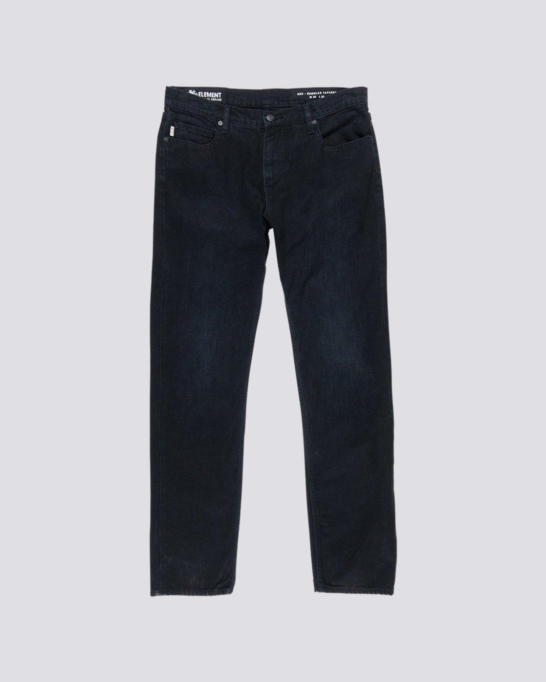 0 E03 - Regular Fit Jeans for Men Black L1PNA3ELF8 Element