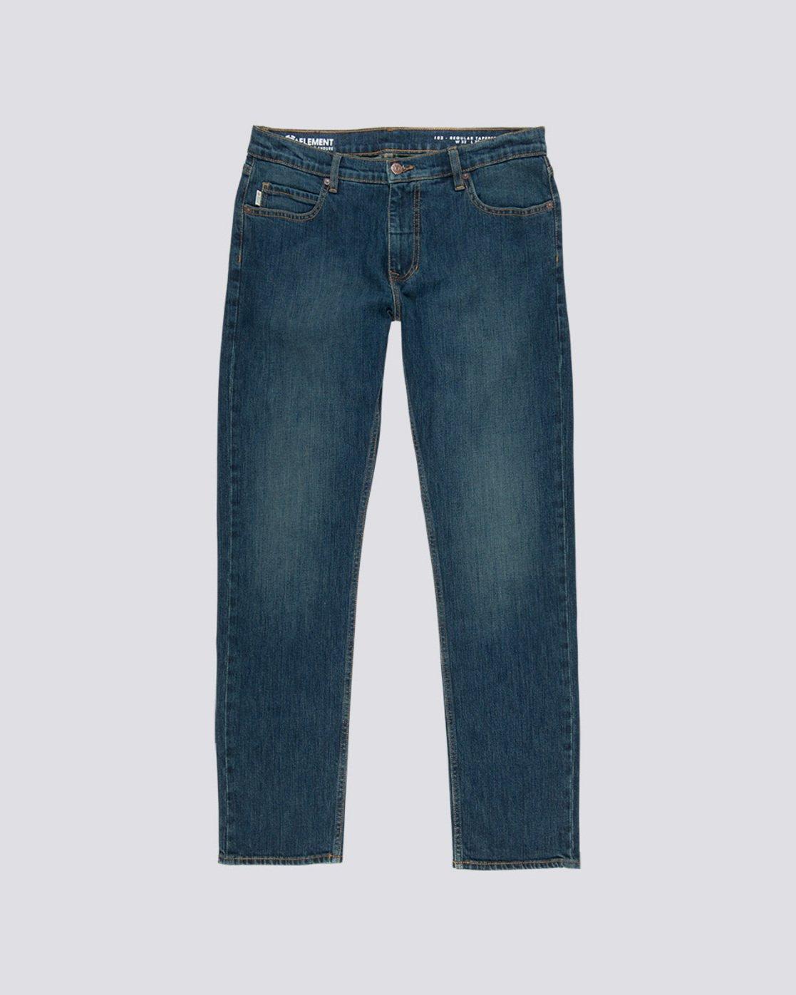 0 E03 - Regular Fit Jeans für Herren Blau L1PNA3ELF8 Element