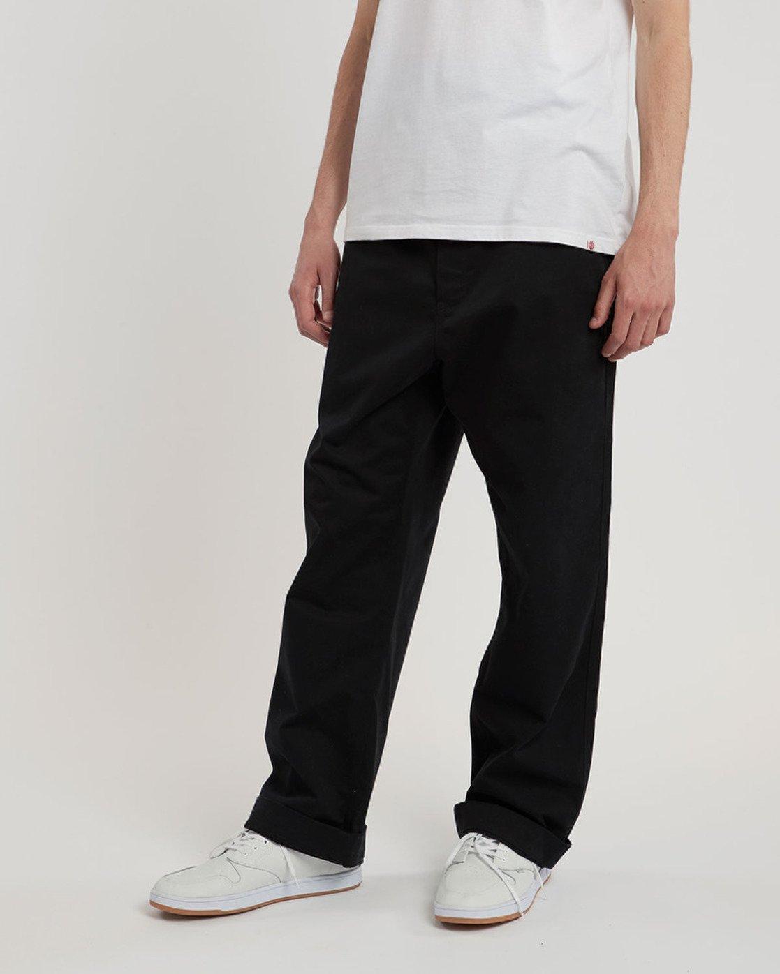 0 Esp Cbn Authentic - trousers for Men Black L1PTC1ELF8 Element