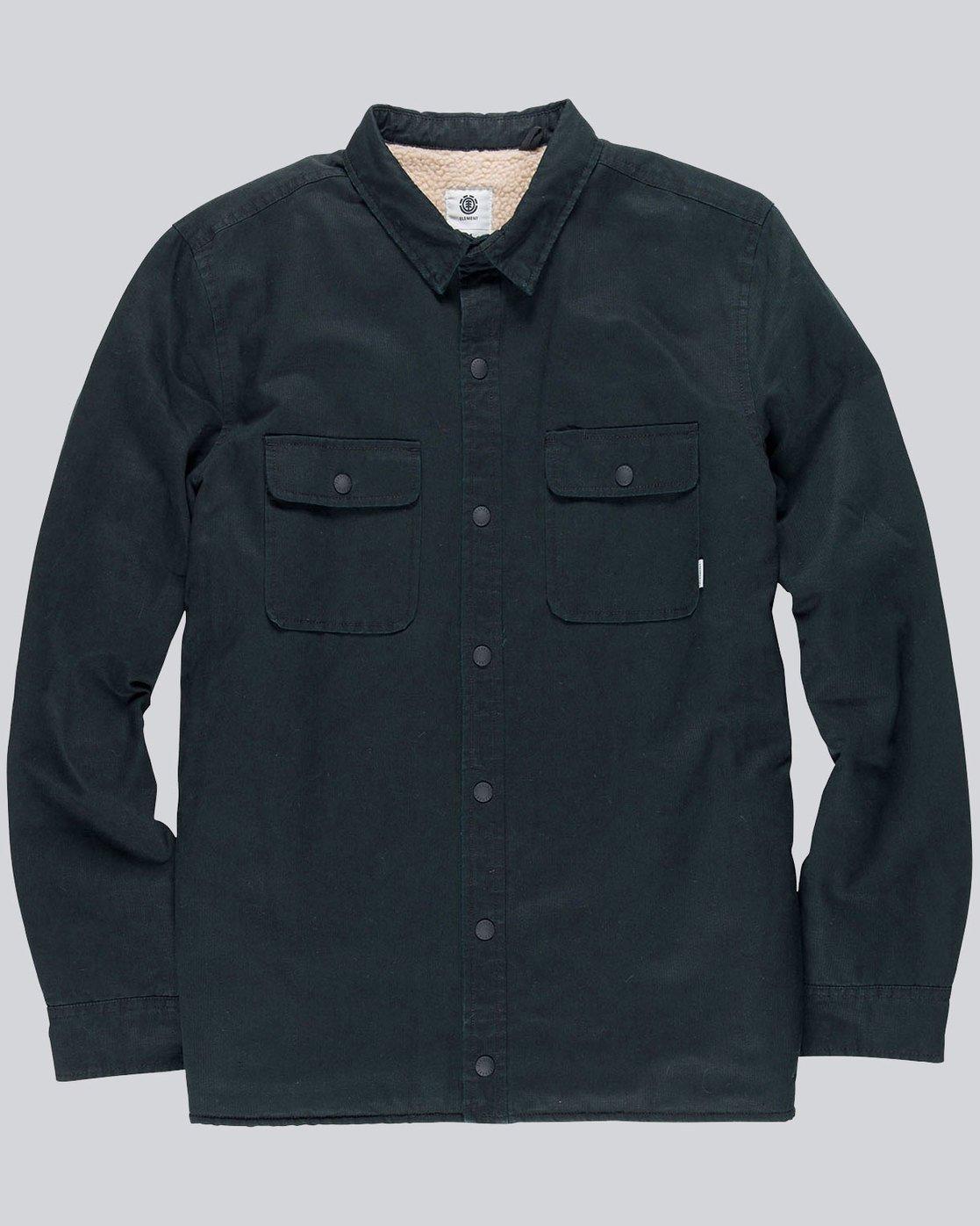 2 Kingsley Ls - Shirt for Men Black L1SHC4ELF8 Element
