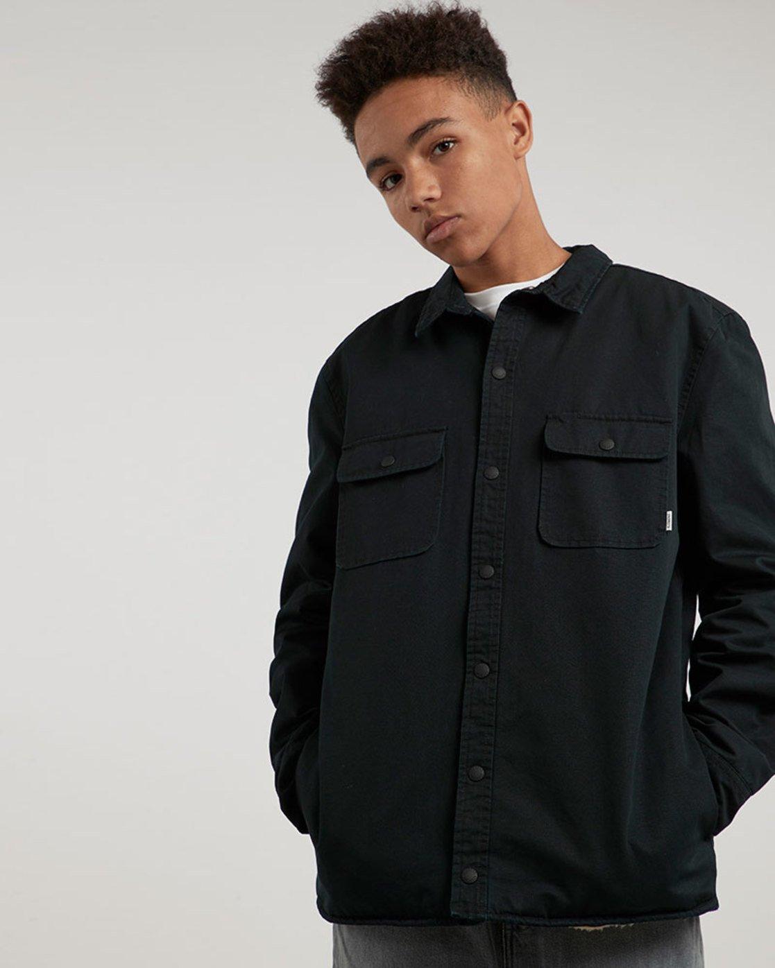 0 Kingsley Ls - Shirt for Men Black L1SHC4ELF8 Element