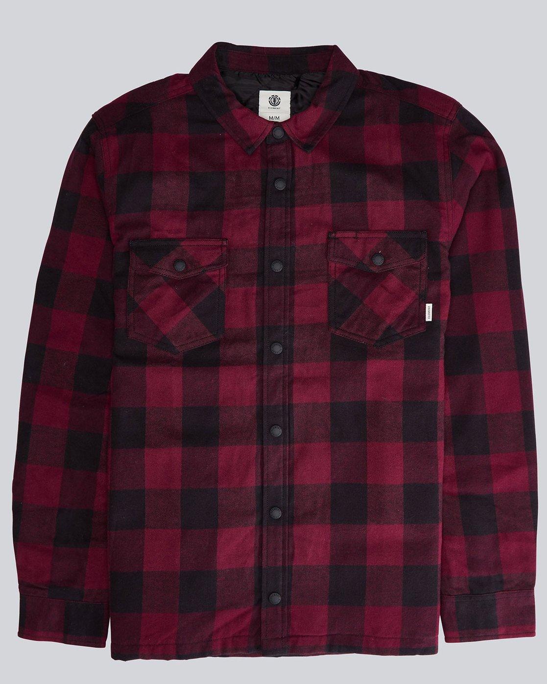 0 Vivid Padded Overshi - Shirt for Men  L1SHE4ELMU Element