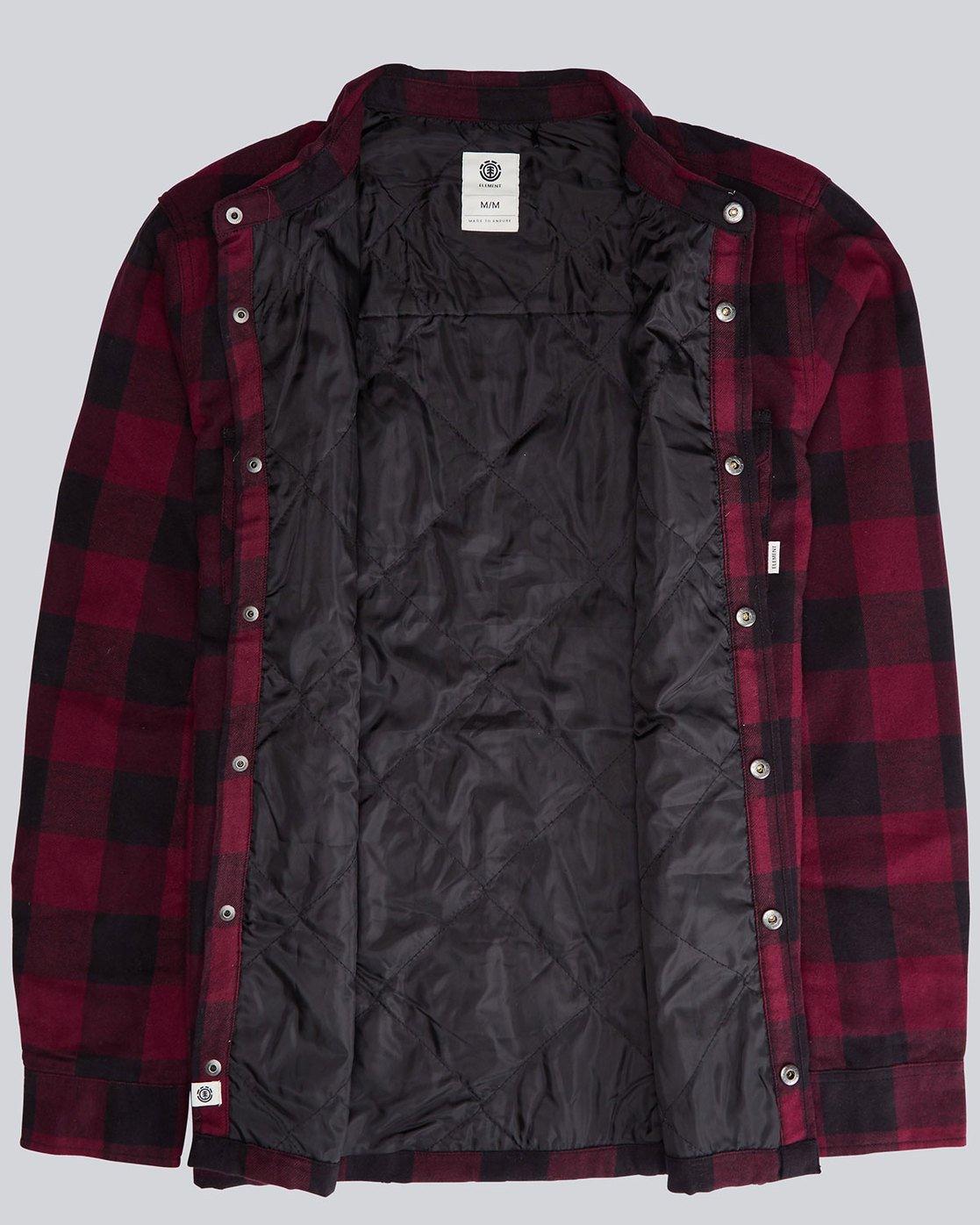 1 Vivid Padded Overshi - Shirt for Men  L1SHE4ELMU Element
