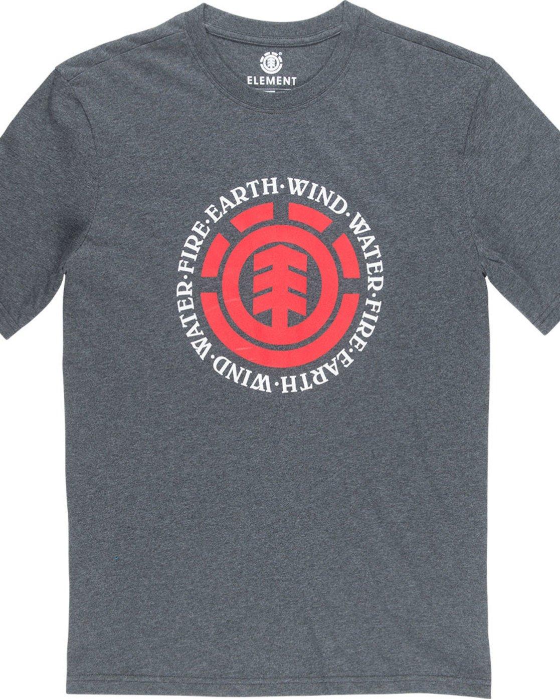 1 Seal Ss - Tee Shirt for Men Grey L1SSA7ELF8 Element