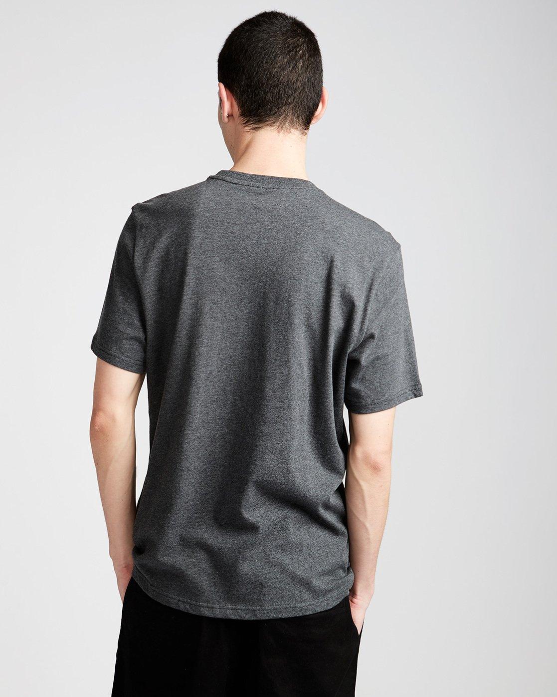 2 Signature Ss - Tee Shirt for Men Grey L1SSA8ELF8 Element