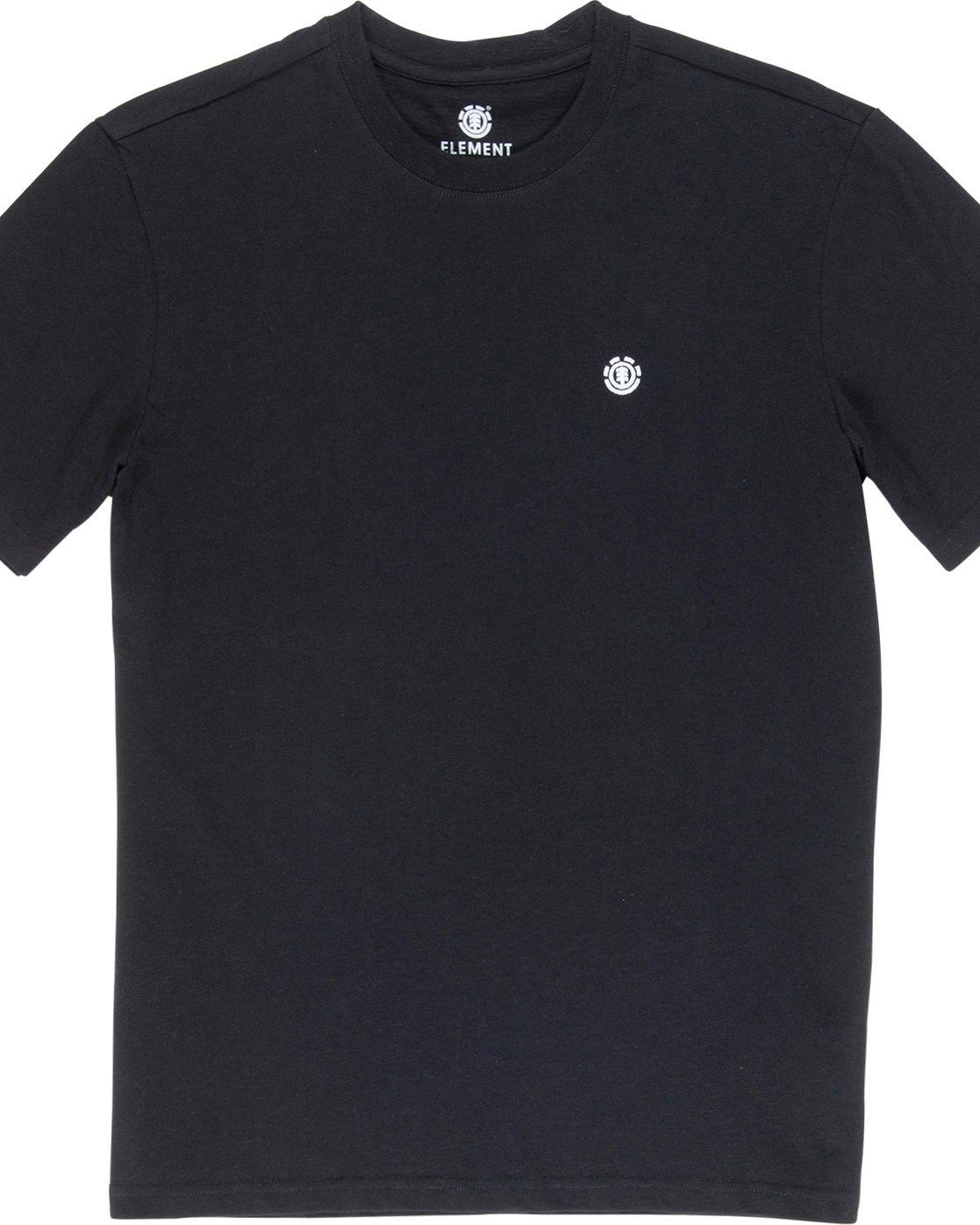 1 Crail - Maglietta a maniche corte da Uomo Black L1SSE5ELF8 Element