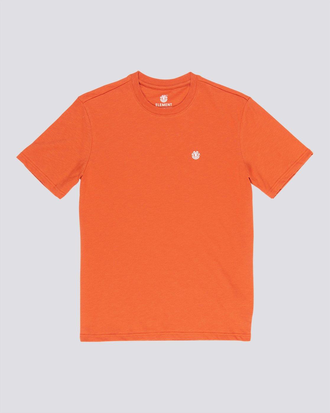 0 Crail - Short Sleeve T-Shirt for Men Orange L1SSE5ELF8 Element