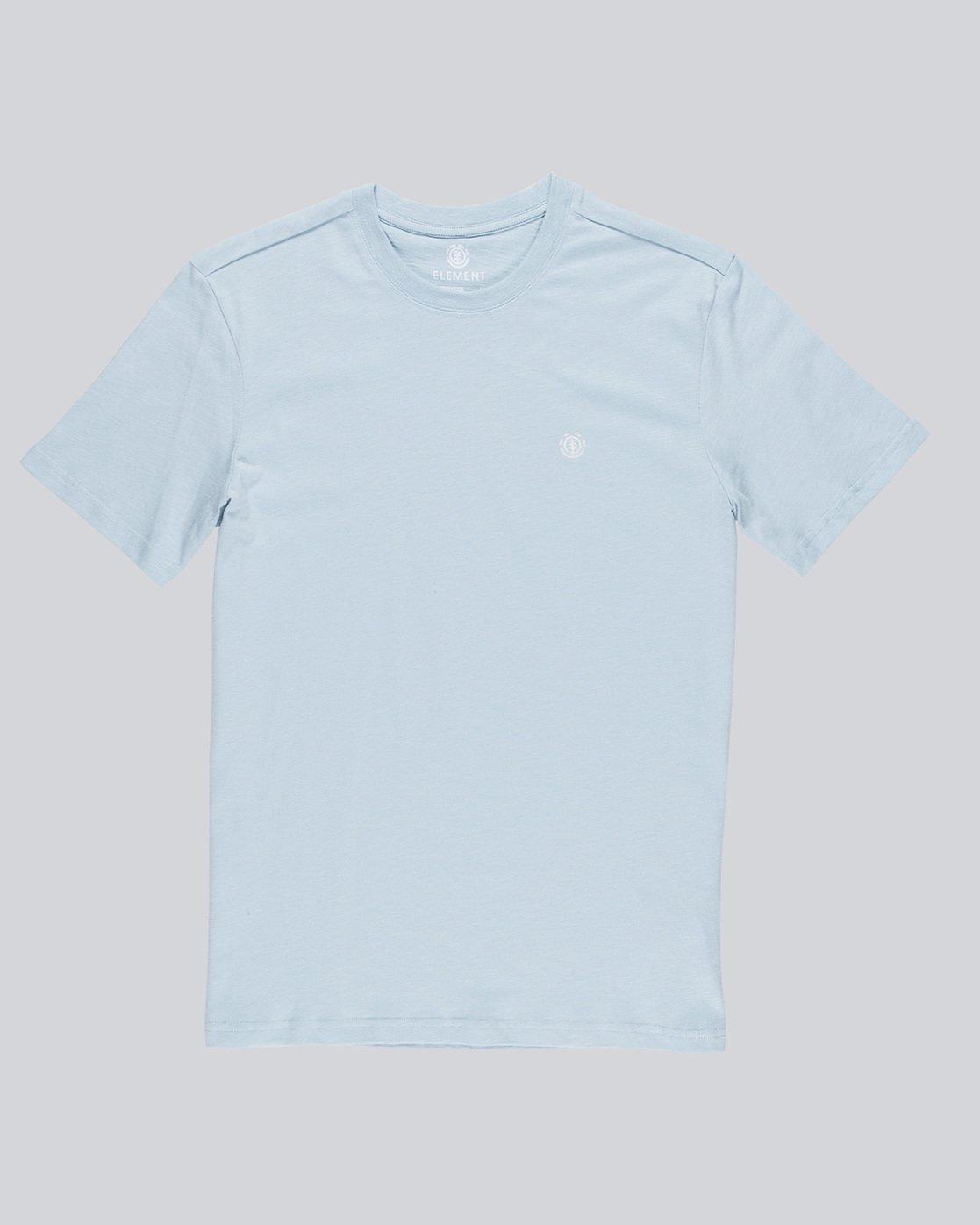 3 Crail - Short Sleeve T-Shirt for Men Blue L1SSE5ELF8 Element