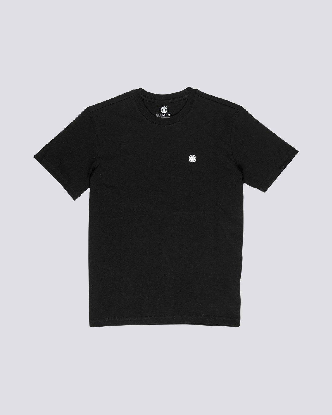 0 Crail - Maglietta a maniche corte da Uomo Black L1SSE5ELF8 Element