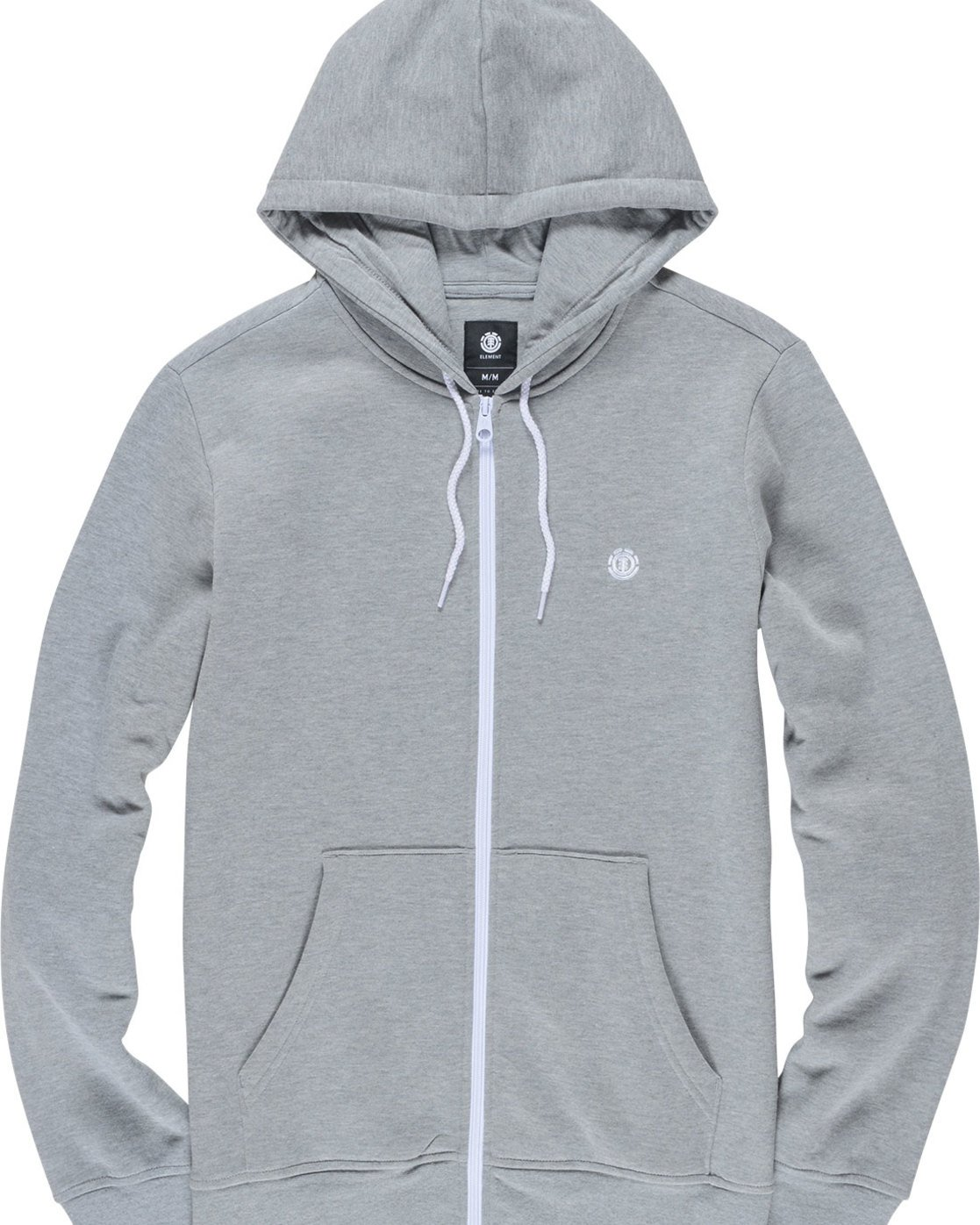 1 Cornell Classic - Zip-Up Hoodie Grey L1ZHA1ELF8 Element