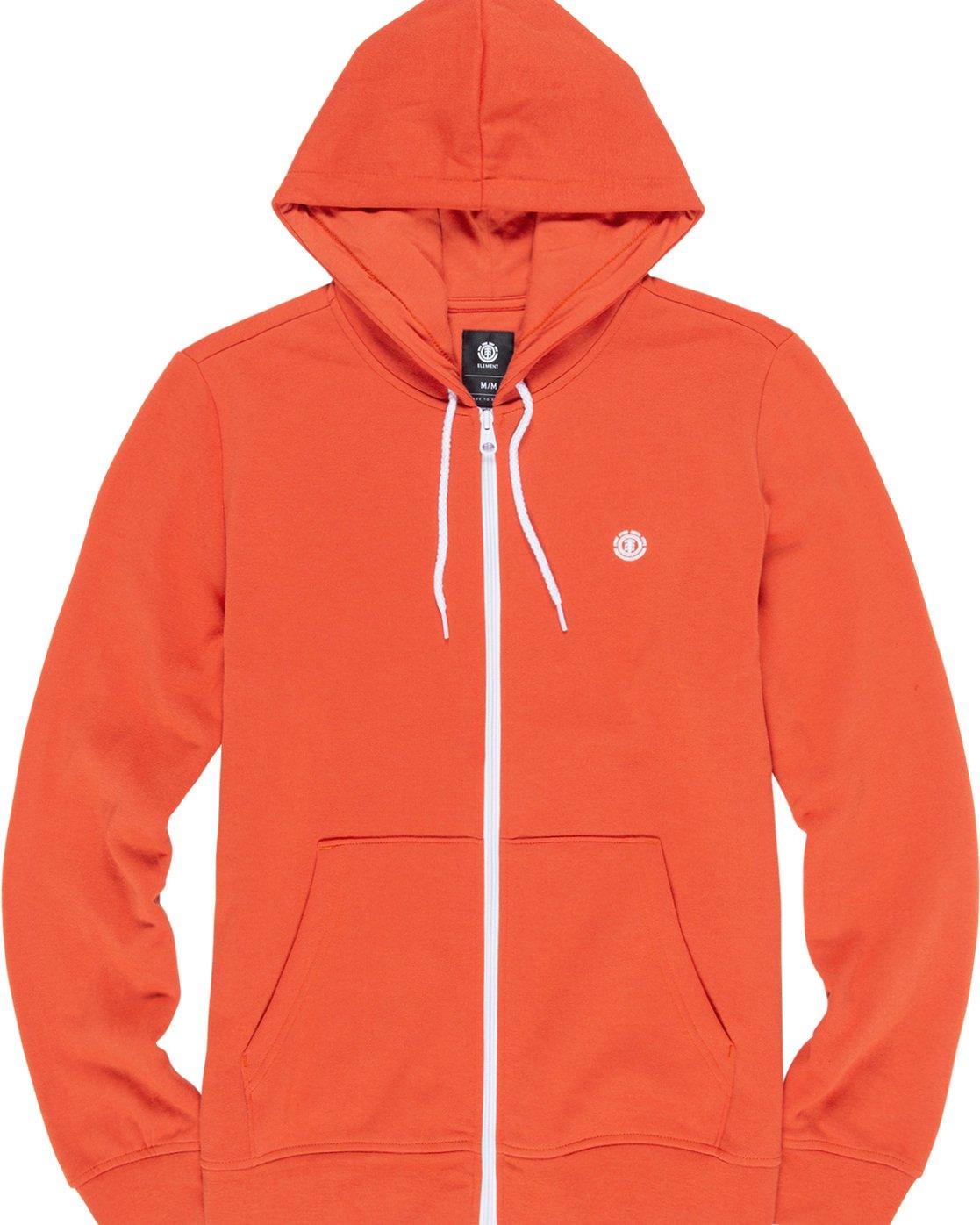 1 Cornell Classic - Zip-Up Hoodie for Men Orange L1ZHA1ELF8 Element