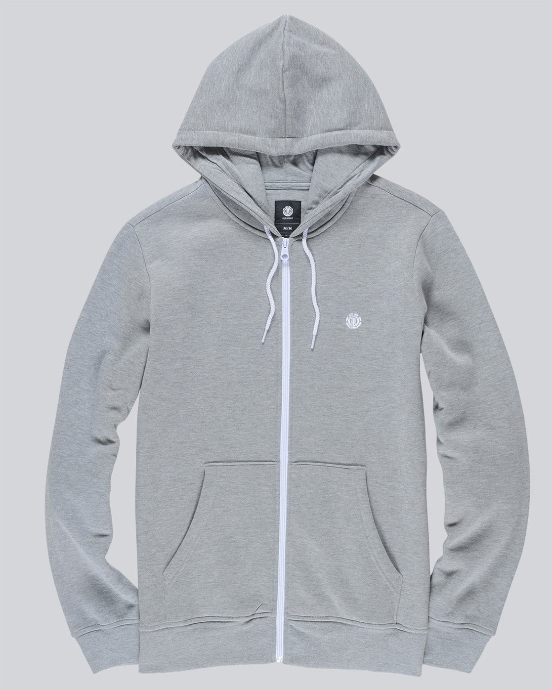 0 Cornell Classic - Zip-Up Hoodie Grey L1ZHA1ELF8 Element
