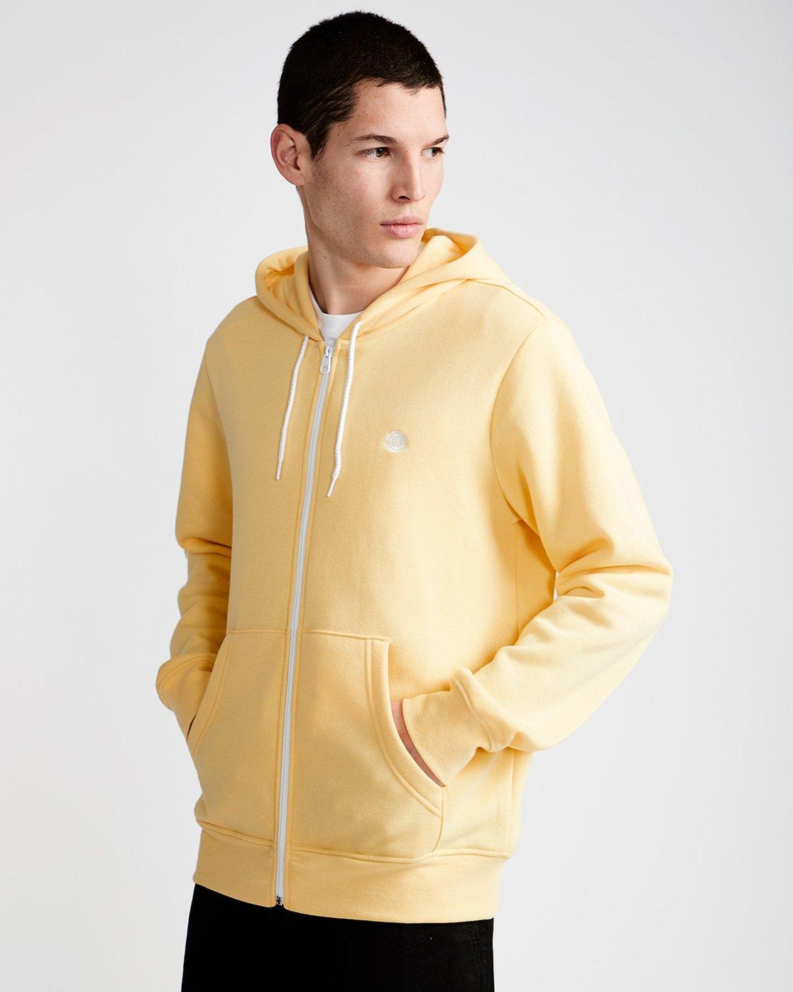 0 Cornell Classic - Zip-Up Hoodie for Men Yellow L1ZHA1ELF8 Element