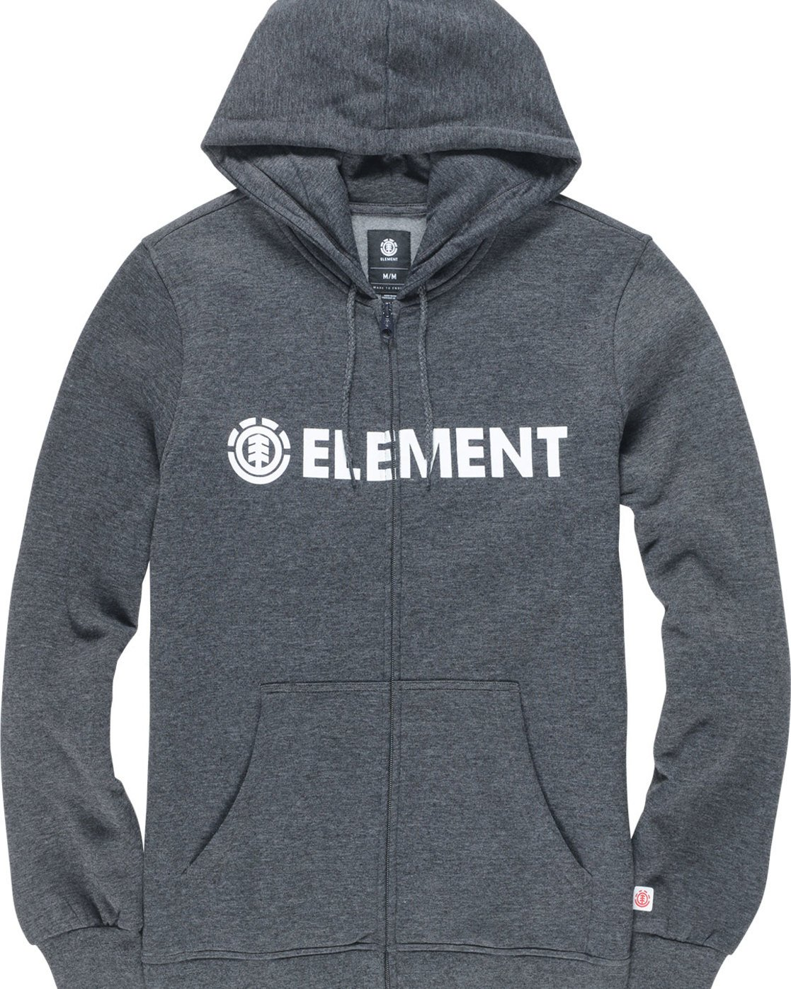 1 Blazin Zip Hood - Fleece for Men Grey L1ZHA7ELF8 Element