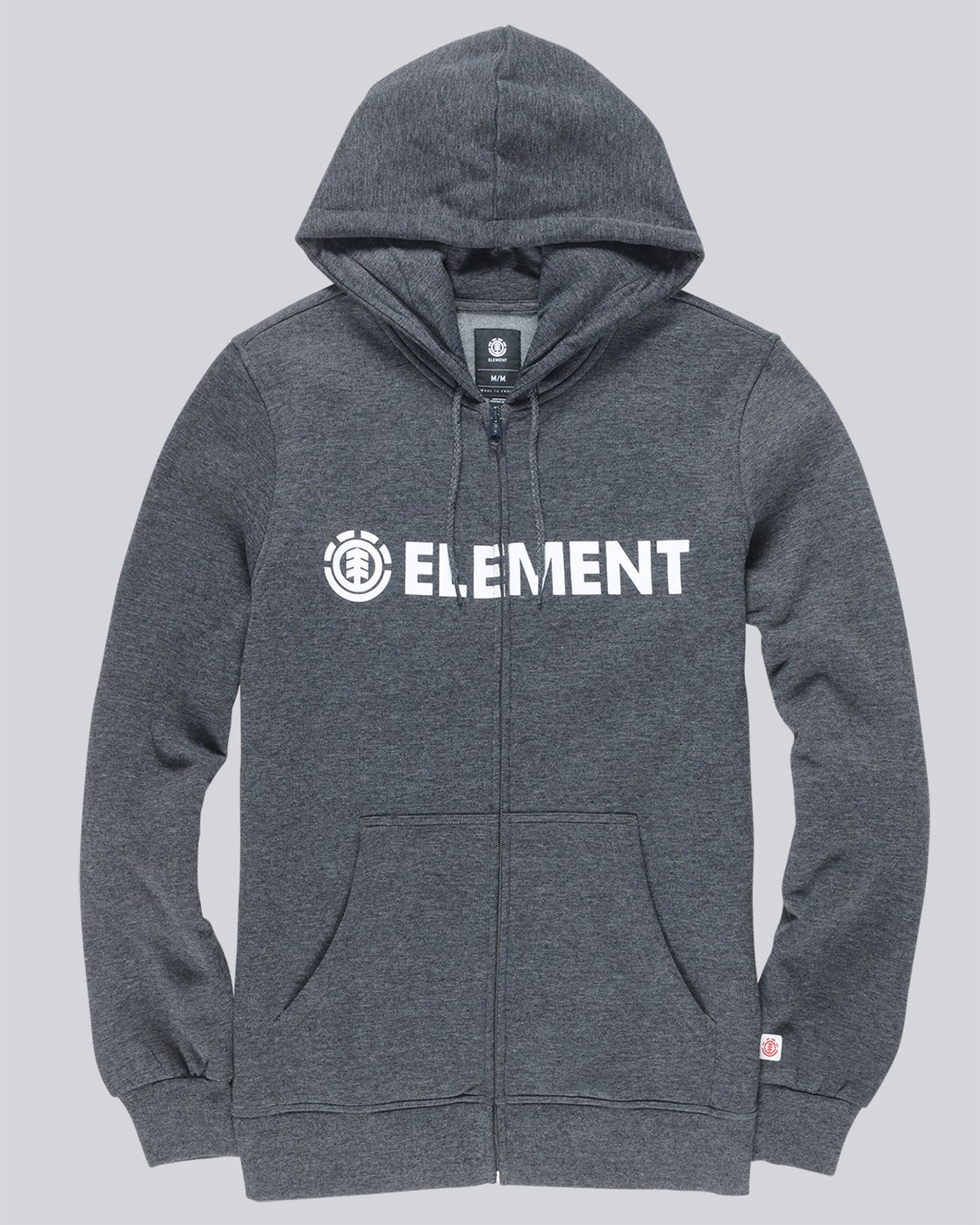 0 Blazin Zip Hood - Fleece for Men Grey L1ZHA7ELF8 Element