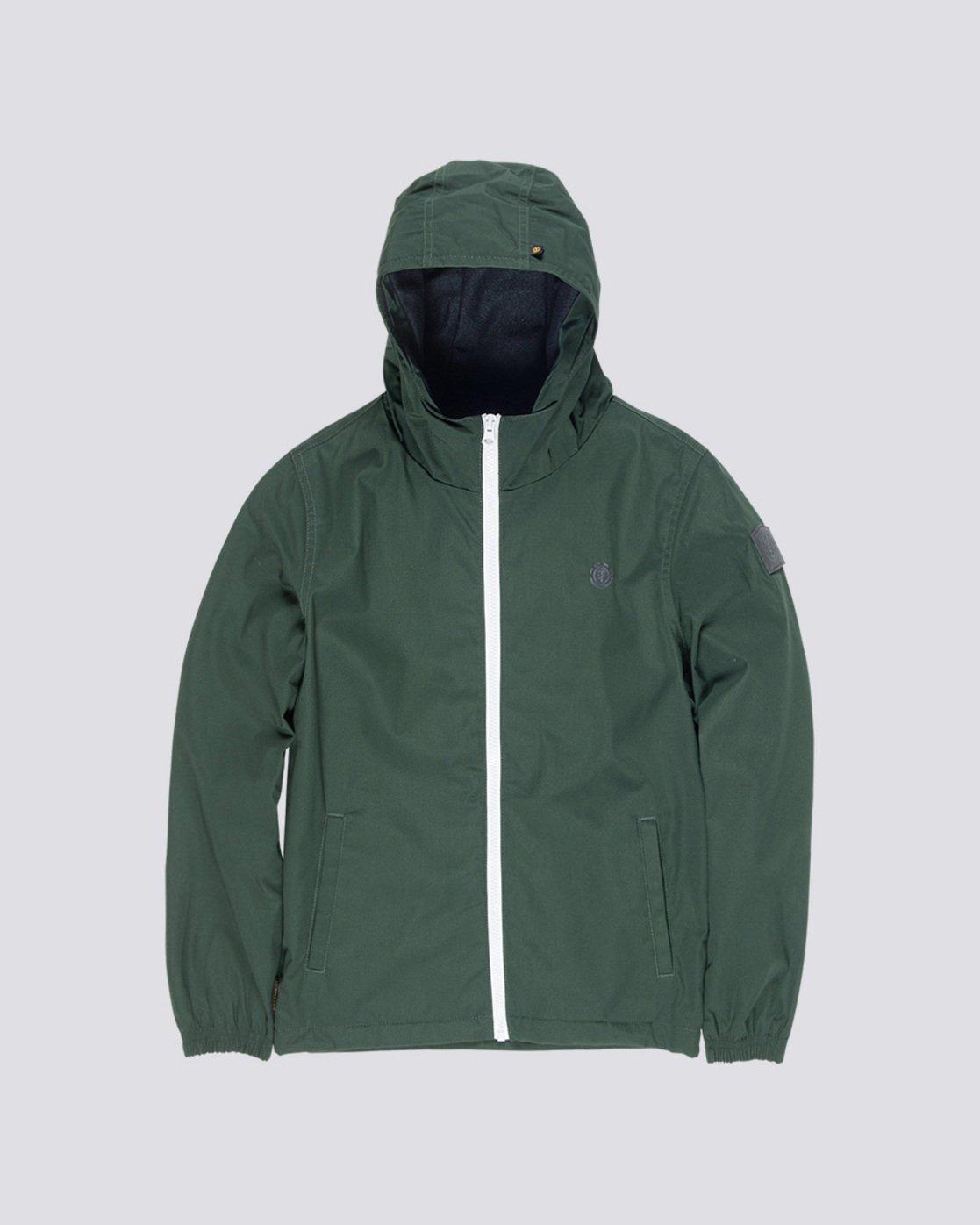 0 Alder Boy - Hooded Jacket Green L2JKA2ELF8 Element