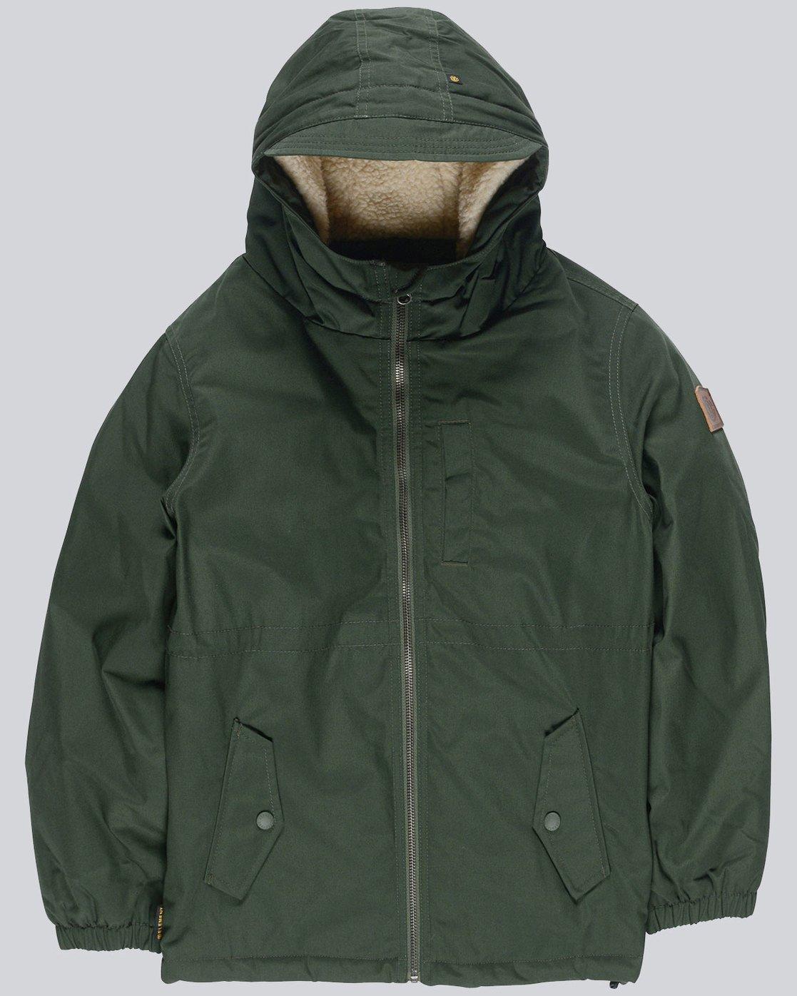 0 Stark Boy - Jacket for Boys Green L2JKA4ELF8 Element