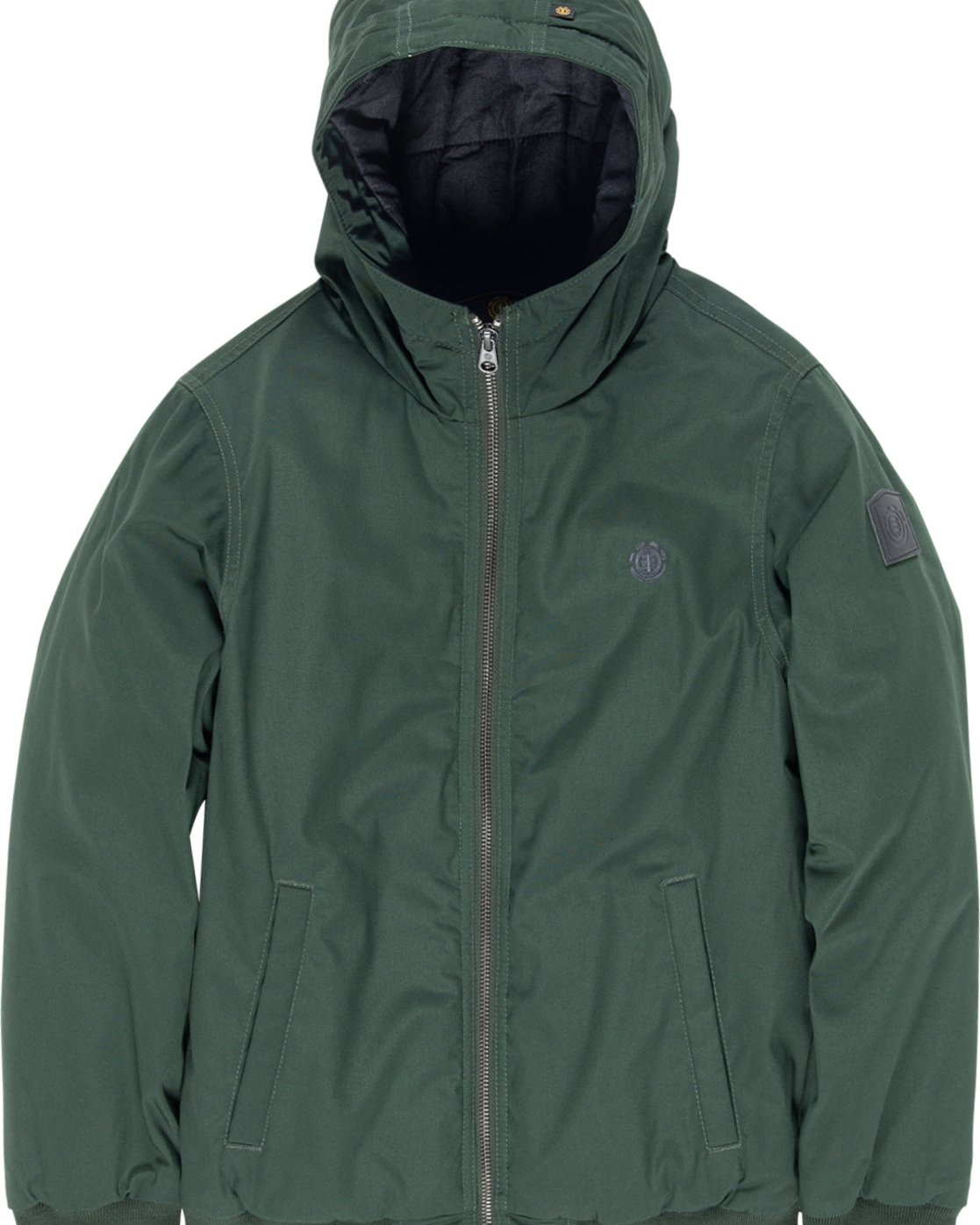 1 Dulcey Boy - Hooded Jacket Green L2JKA5ELF8 Element