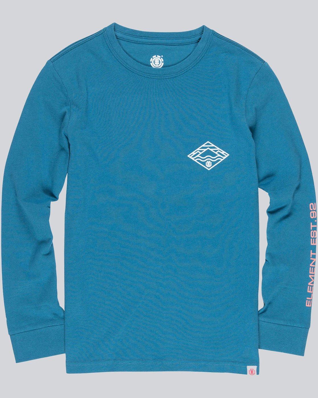 0 Layer Ls Boy - Tee Shirt for Boys  L2LSA5ELF8 Element