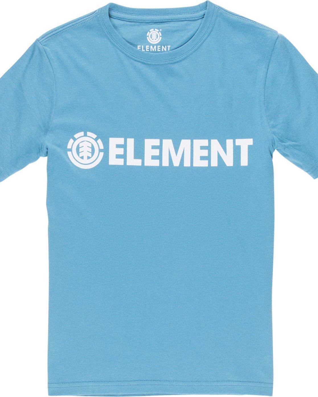 1 Blazin Ss Boy - Tee Shirt for Boys Blue L2SSA2ELF8 Element