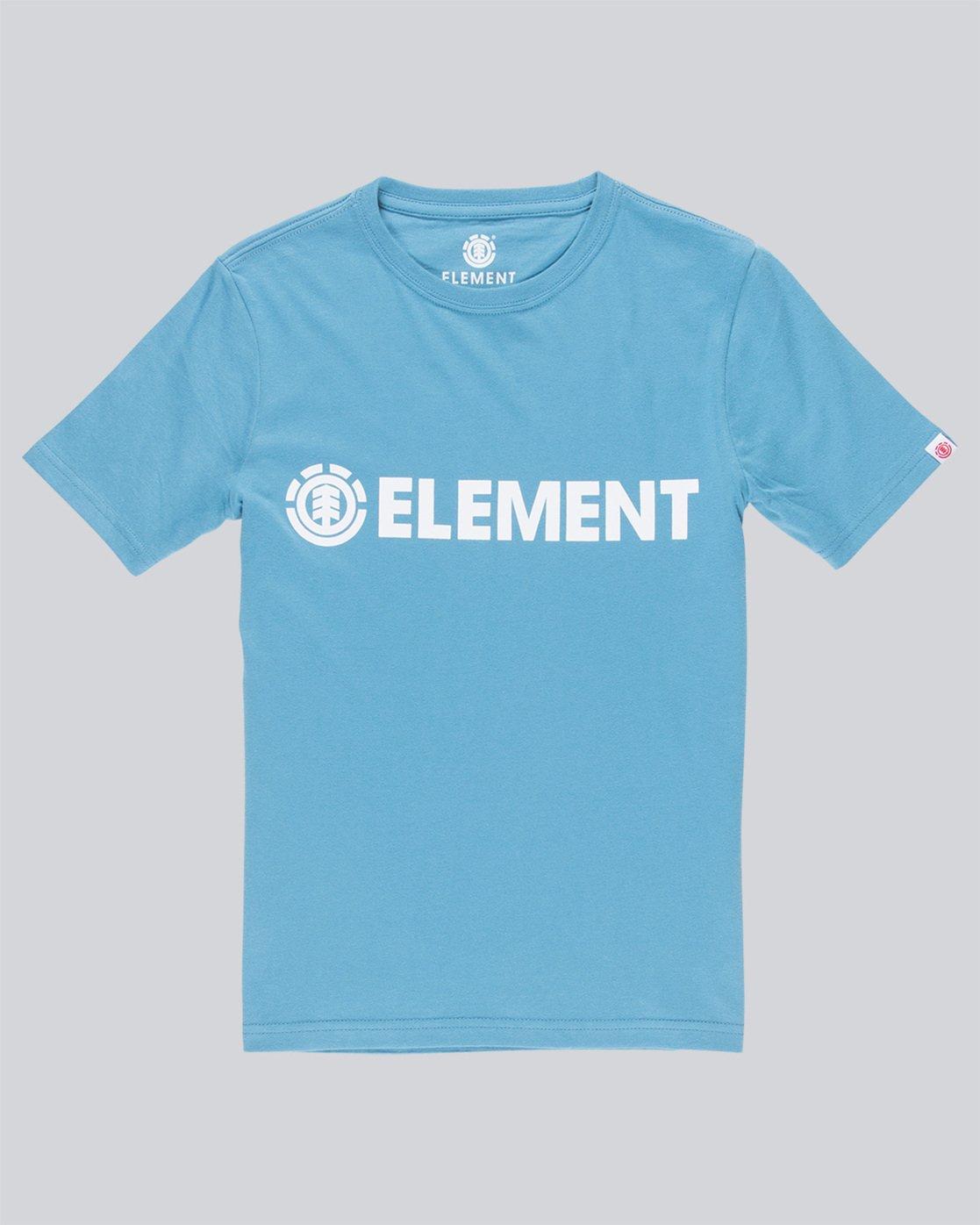 0 Blazin Ss Boy - Tee Shirt for Boys Blue L2SSA2ELF8 Element