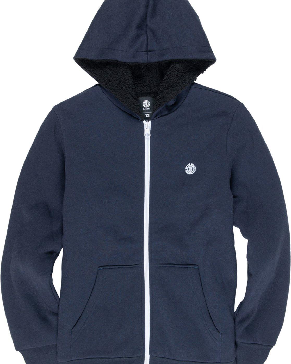 1 Bolton Boy - Pull zippé à capuche pour Garçon Bleu L2WAA1ELF8 Element