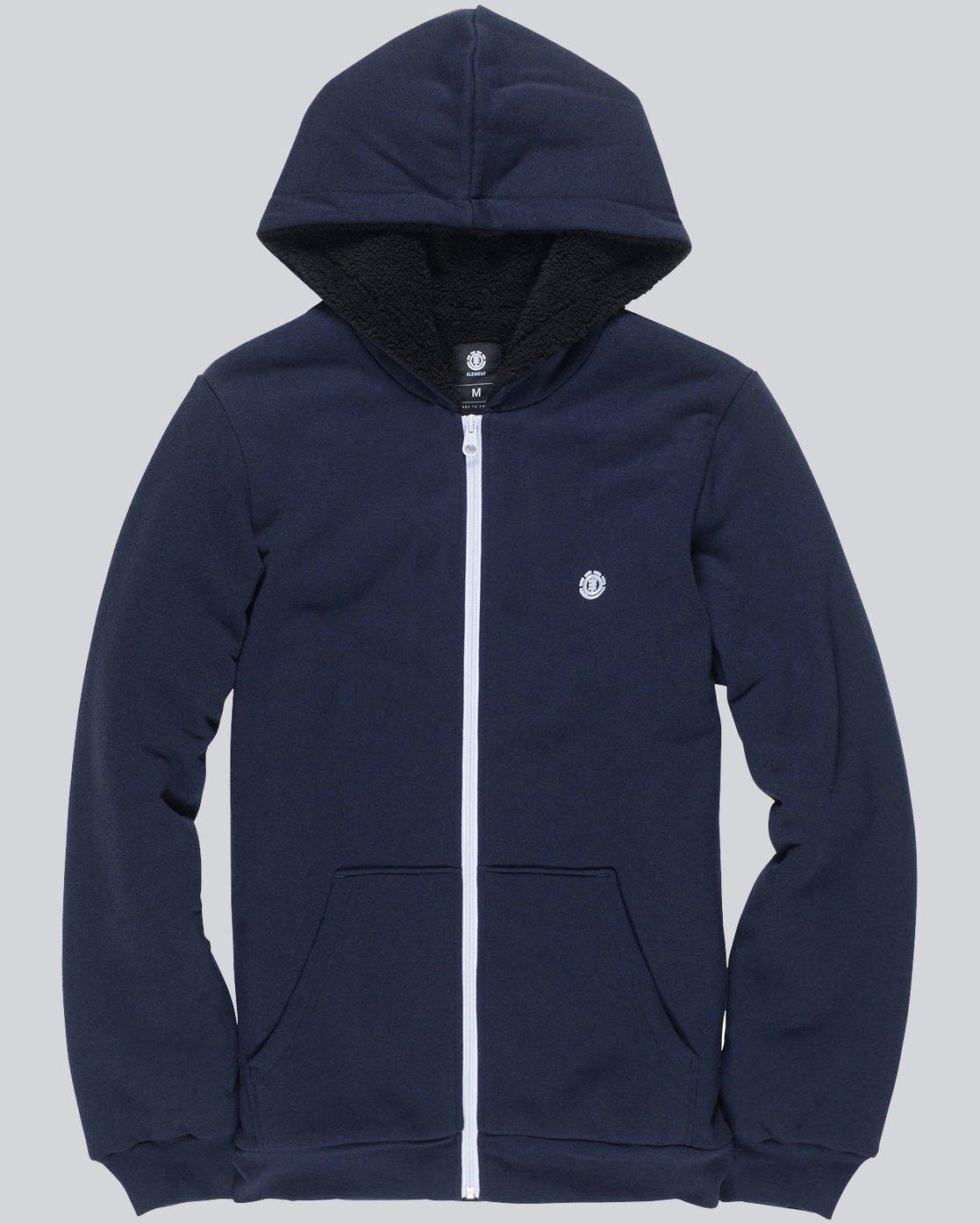 0 Bolton Boy - Pull zippé à capuche pour Garçon Bleu L2WAA1ELF8 Element