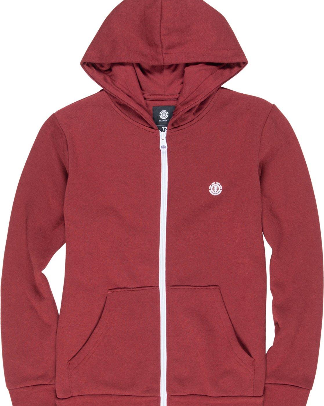 1 Cornell Classic Boy - Zip-Up Hoodie Red L2ZHA1ELF8 Element