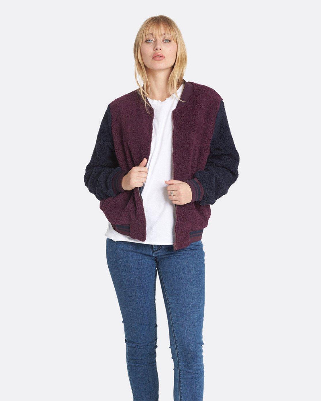0 Word - Jacket for Women Red L3JKB5ELF8 Element