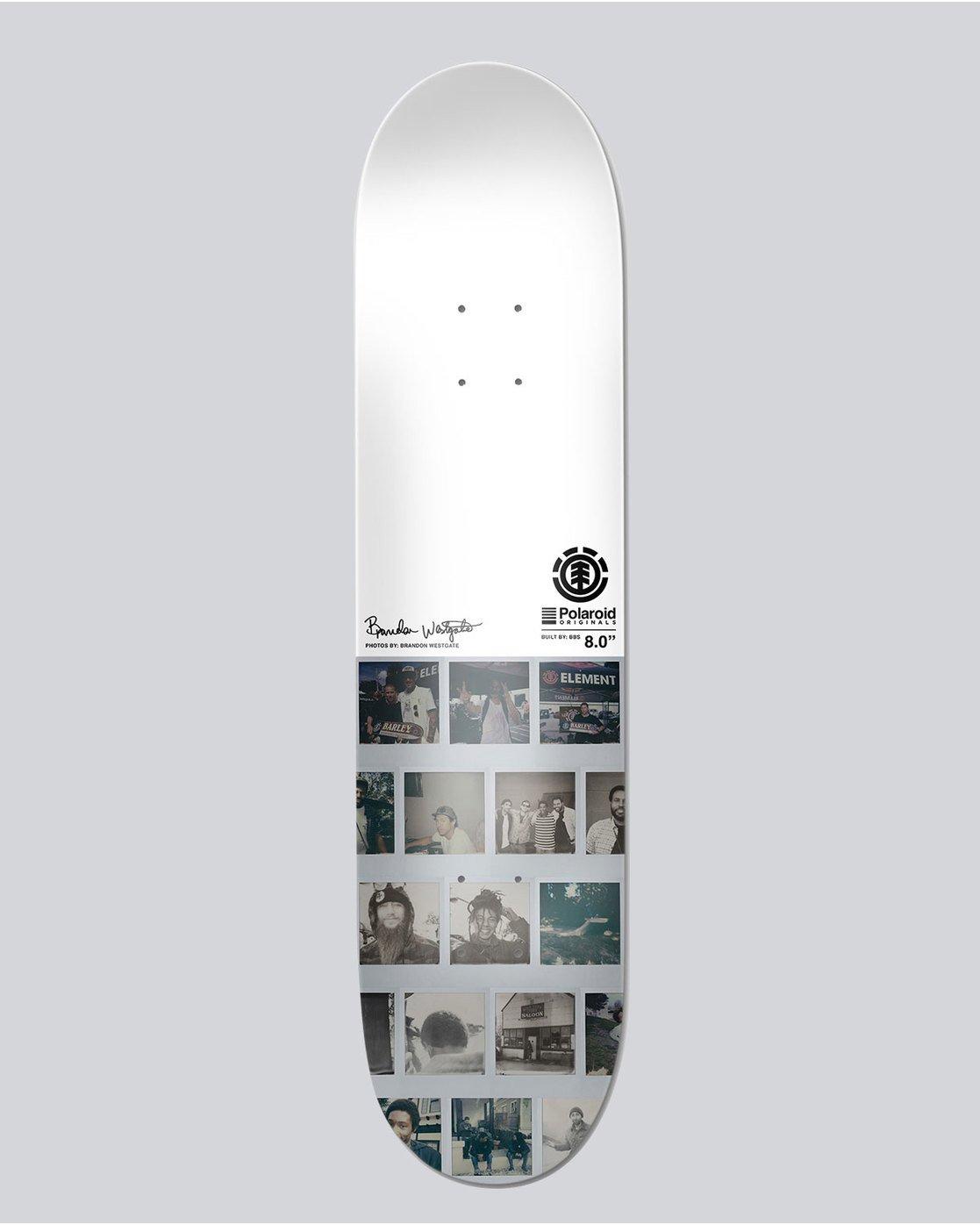 1 Polaroid Westgat 8 - Deck for Men  L4DCHKELF8 Element