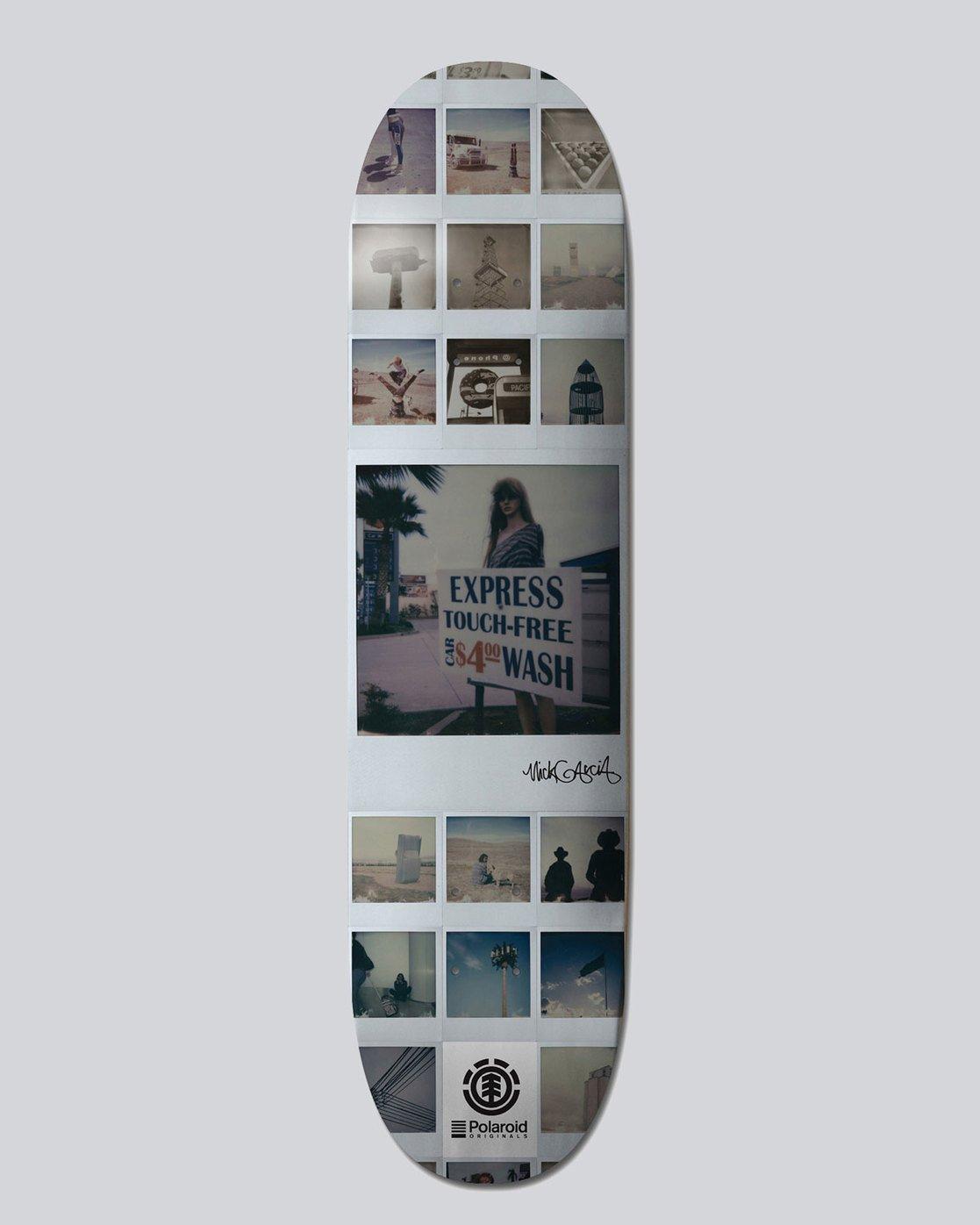 0 Polaroid Garcia 8.2 - Deck for Men  L4DCHLELF8 Element