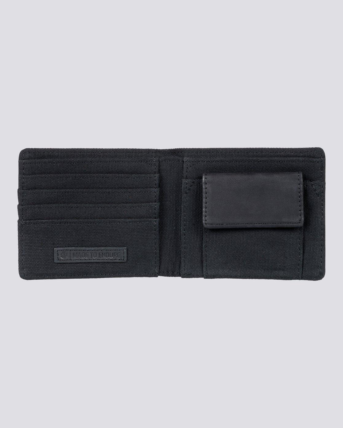 2 Endure L. Ii - Leather Wallet for Men  L5LWA1ELF8 Element