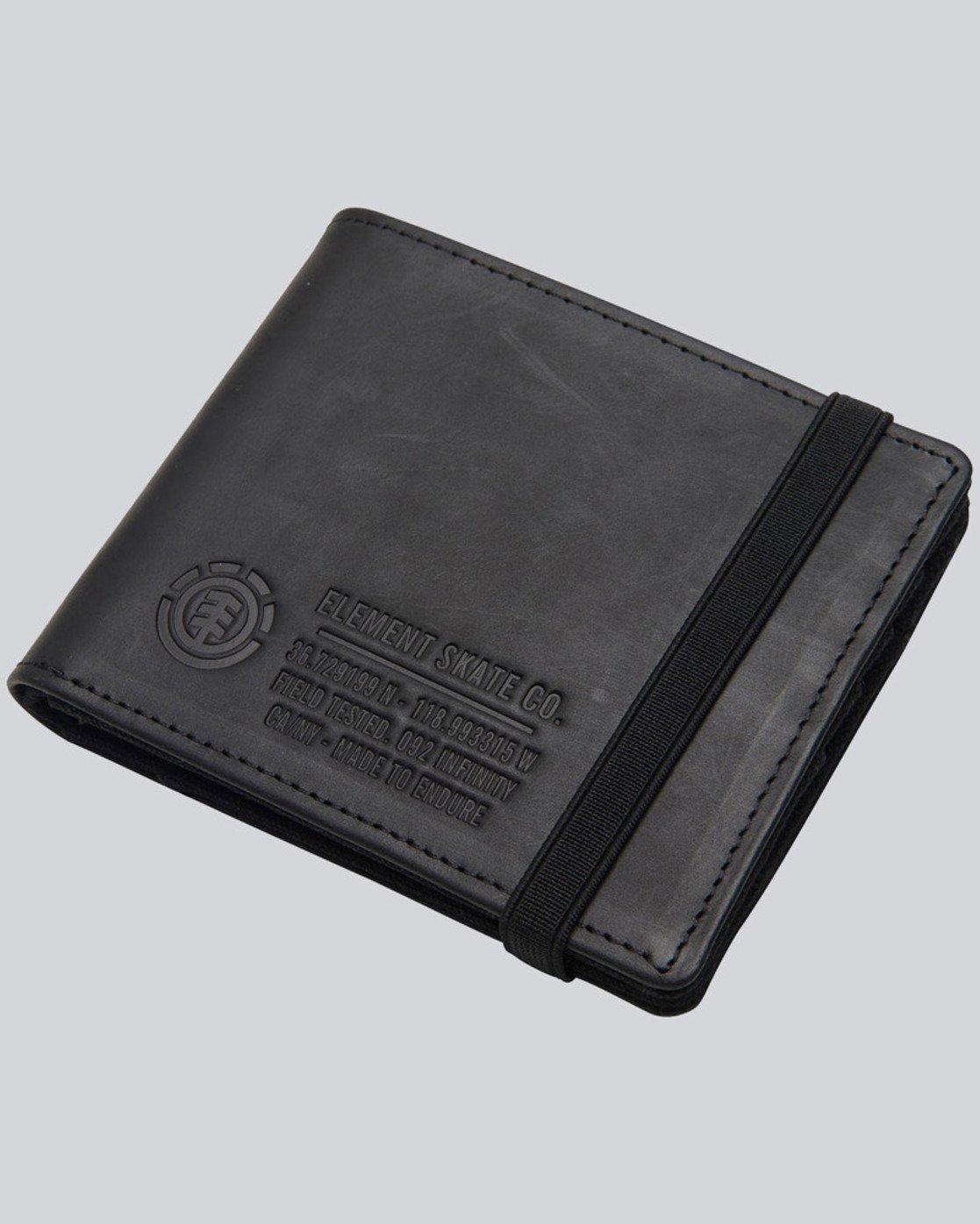 0 Endure L. Ii - Leather Wallet for Men  L5LWA1ELF8 Element