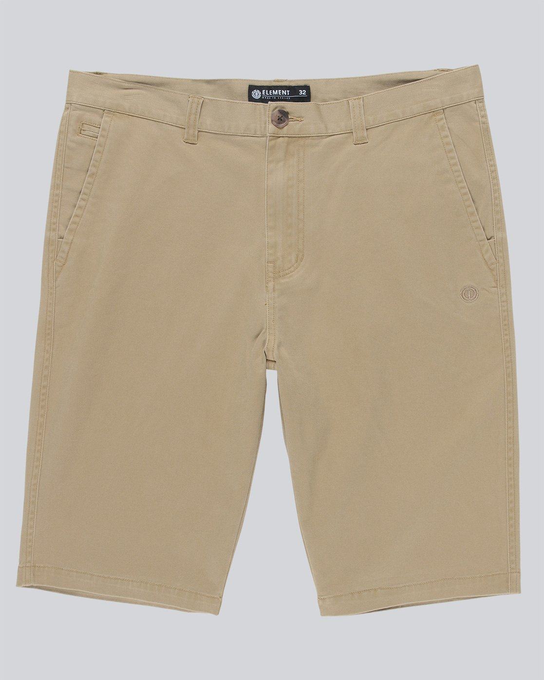 0 Howland Classic Shorts Grey M246TEHW Element