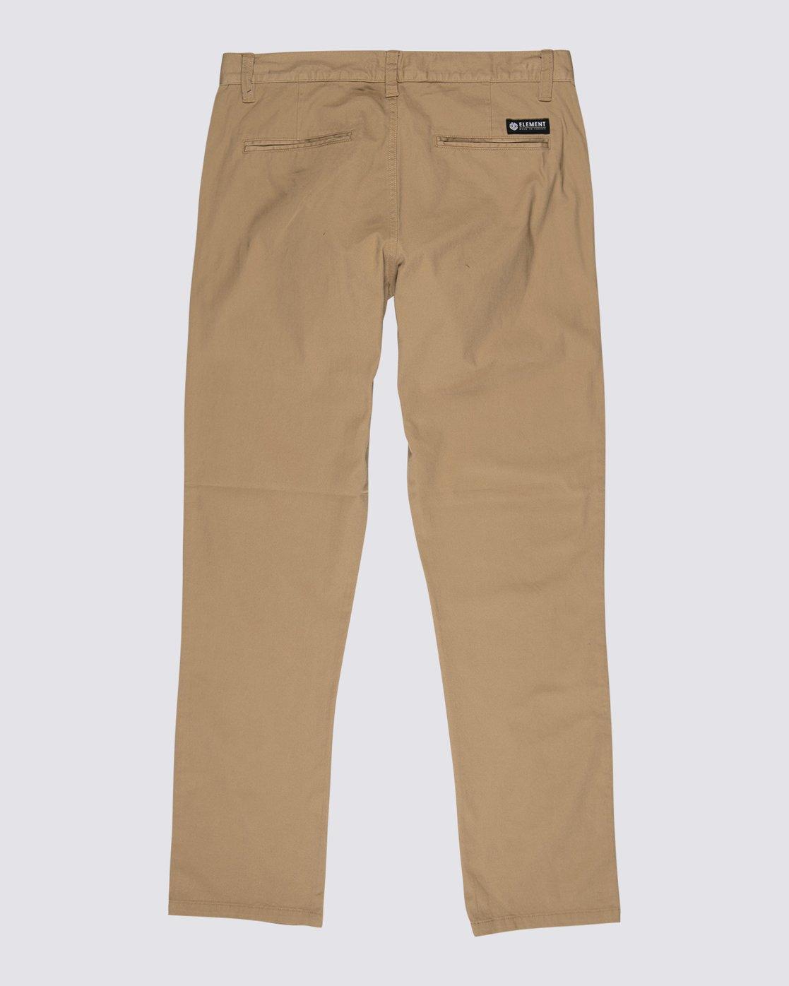 1 Howland Classic Chino Pants Grey M3291EHP Element