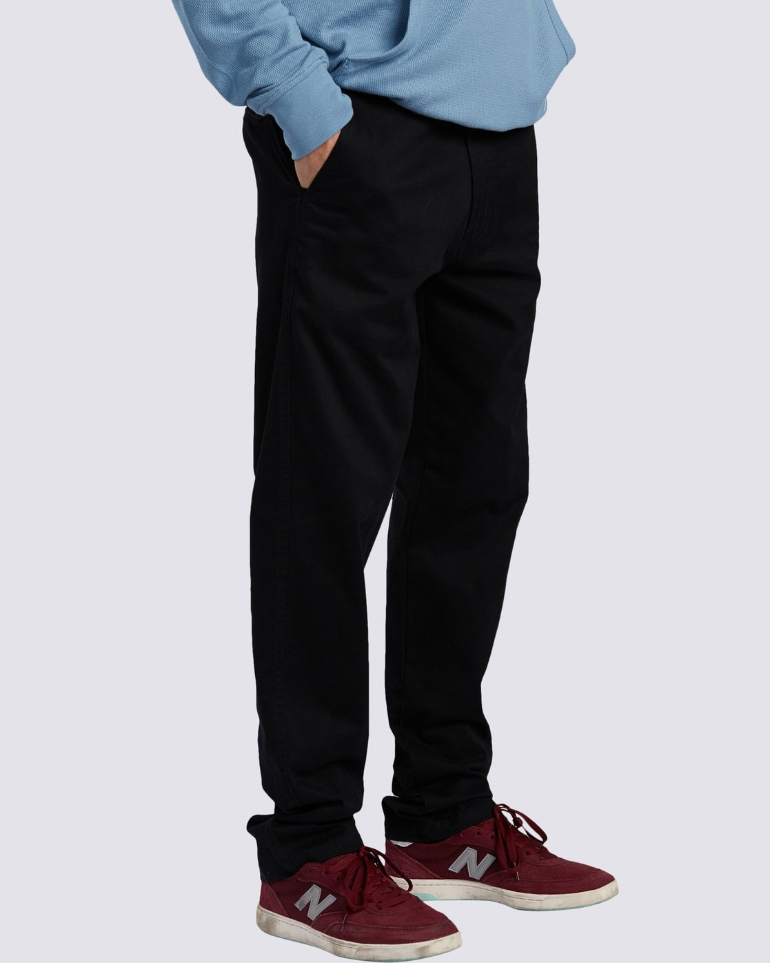6 Howland Classic Chino Pant Blue M3373EHO Element