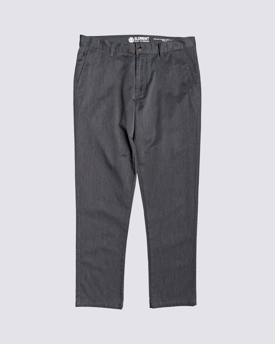 0 Howland Classic Chino Pant Grey M3373EHO Element