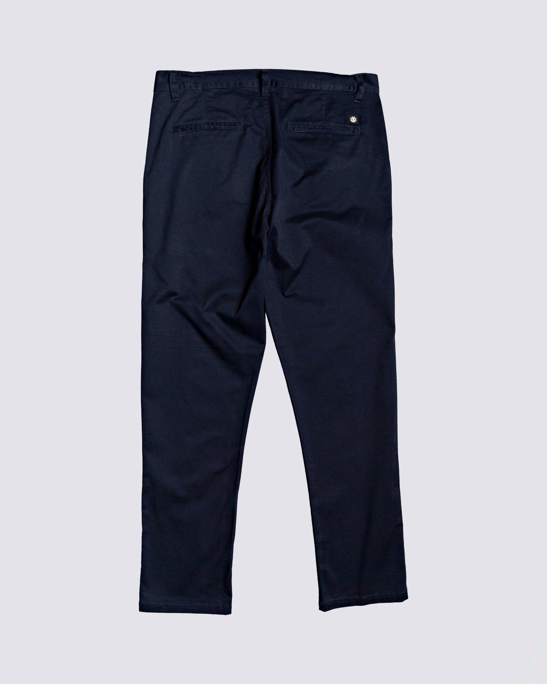 1 Howland Classic Chino Pant Blue M3373EHO Element