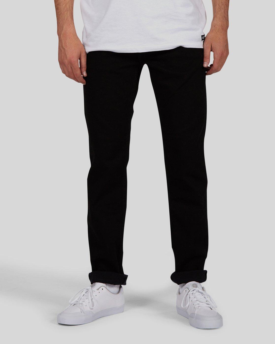 2 E02 Flex Jeans Black M392LE02 Element
