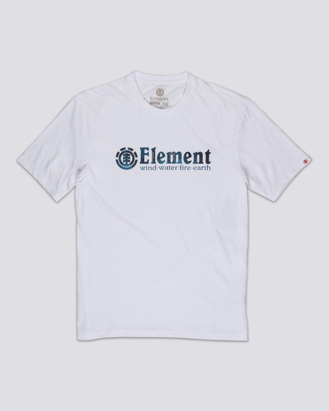 0 Boro T-Shirt White M4011EBO Element